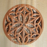 baroque guitar rosette
