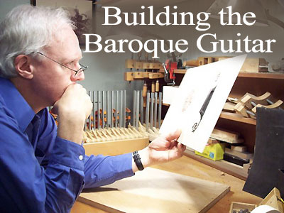 baroque guitar building